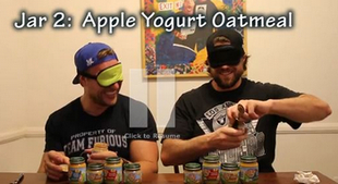 thinkhurt.com_furious_pete_blindfolded_babyfood_taste_test